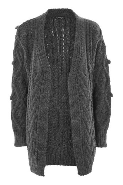 cardigan cardigan charcoal sweater