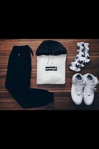 jacket supreme hoodie
