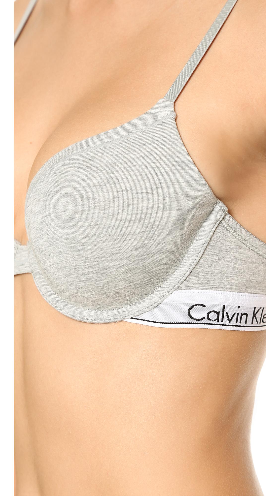 calvin klein underwear modern cotton t shirt bra