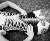 swimwear,bodysuit,skull,cute,one piece,black,tumblr,ribcage,rib cage,body,black and white,skeleton,full body,creepy,creepy kawaii,dark,grunge,soft grunge,pastel grunge,goth,underwear,tattoo,bones,swimwear printed