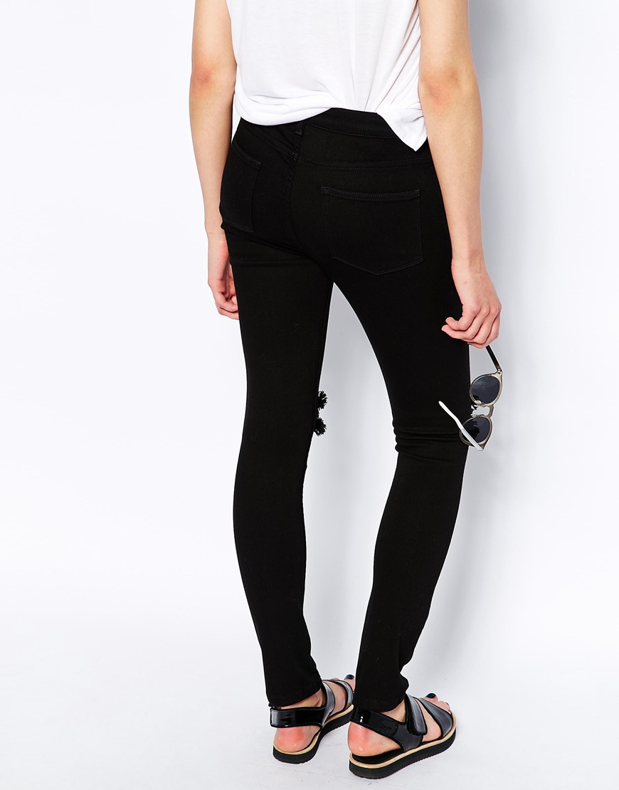 Whistles Skinny Jeans with Ripped Knee at asos.com