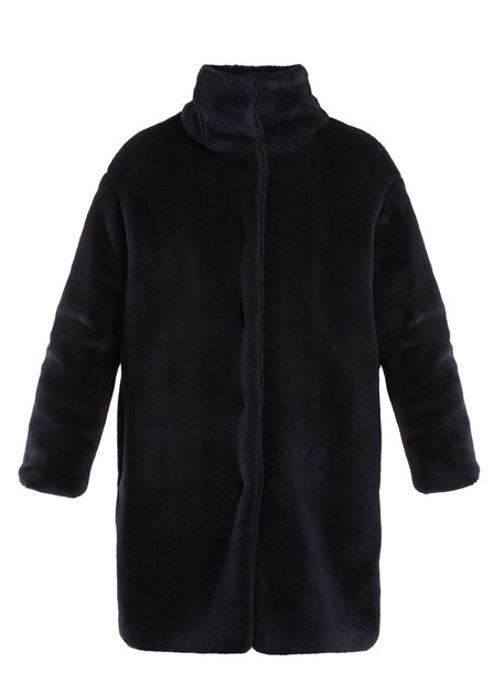WEEKEND MAX MARA coat navy