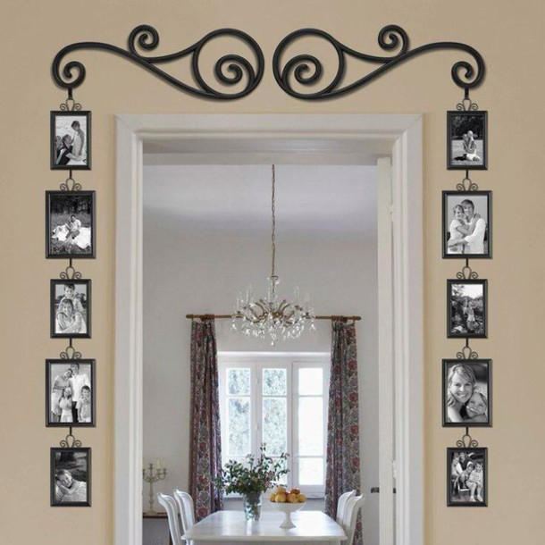 Home accessory photo frame cute doorway home decor for Cute house decor
