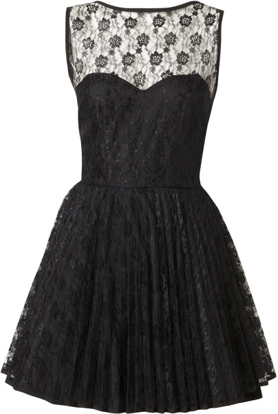 Topshop Vicky Dress By Jones and Jones** in Black | Lyst