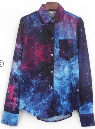 shirt galaxy shirt galaxy print