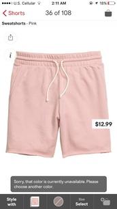 shorts,pink,sweatshorts,bermuda
