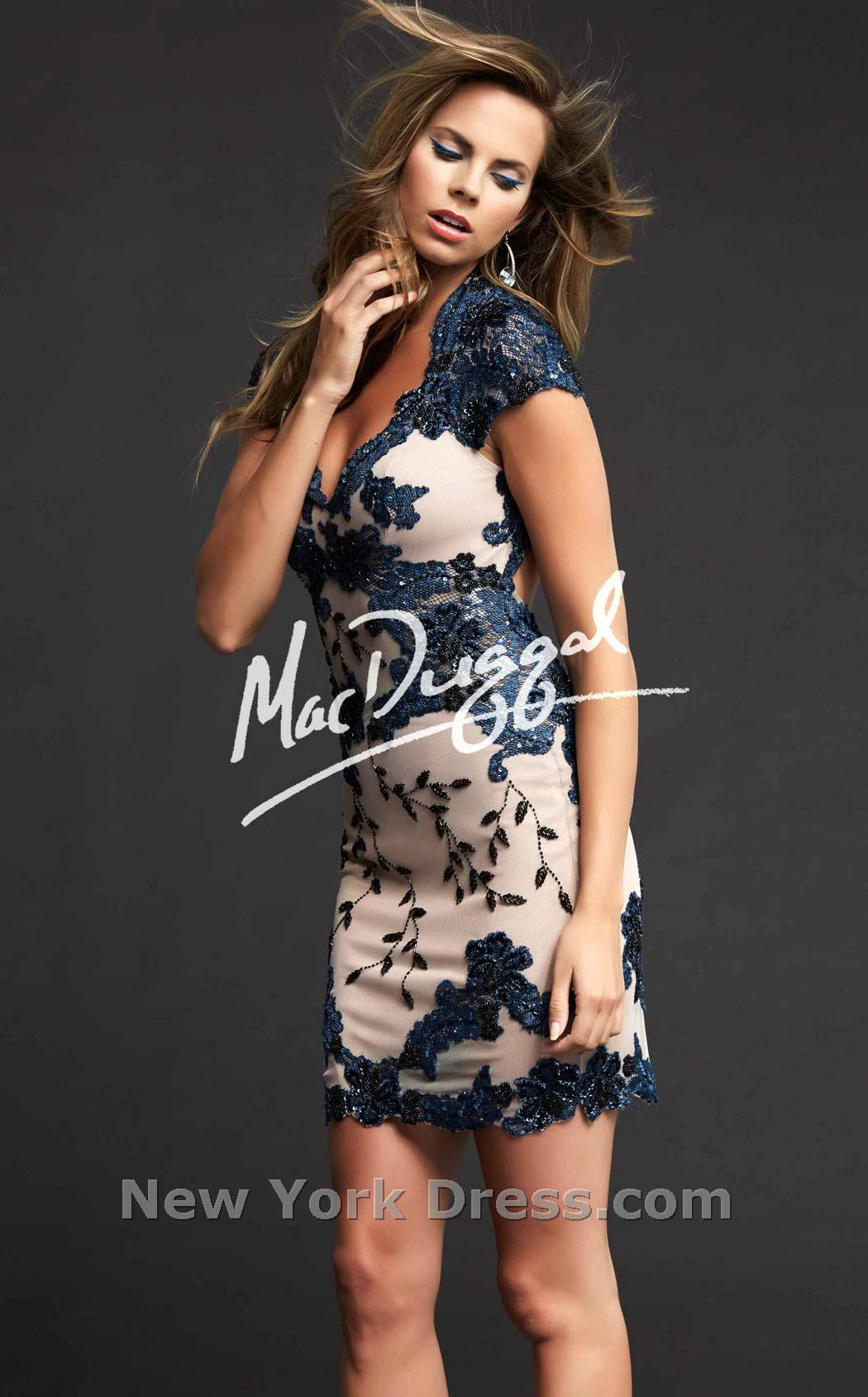 Mac duggal 1930t dress