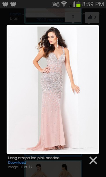 dress prom pink dress classy dress