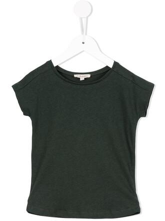 t-shirt shirt girl green top