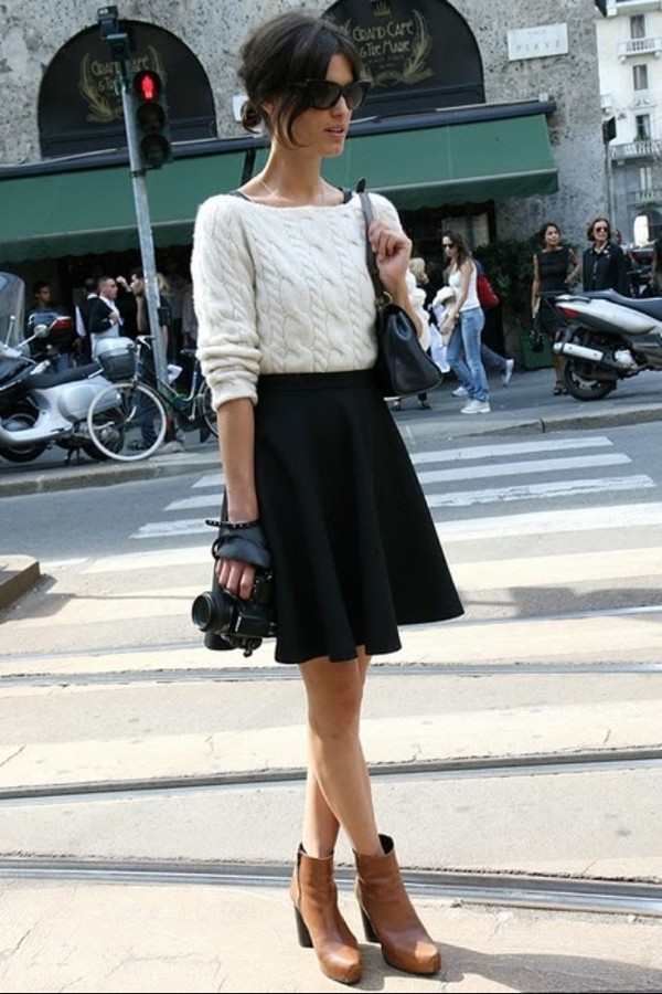 sweater white sweater skirt jumper photography cream jumper