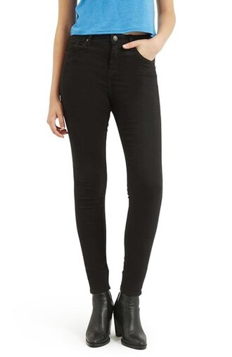 jeans high waisted jeans black black jeans