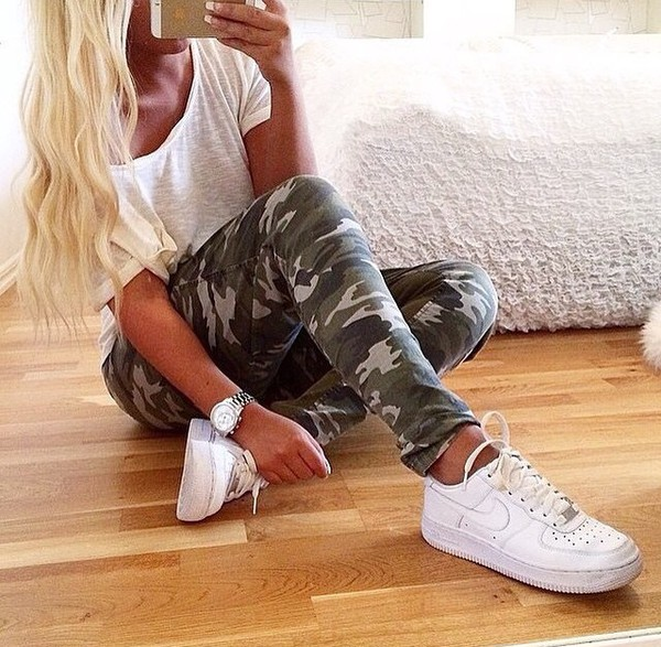 nike air force 1 low outfit