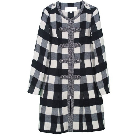 coat checked coat winter coat fall outfits woolen coat check winter fashion fall coat