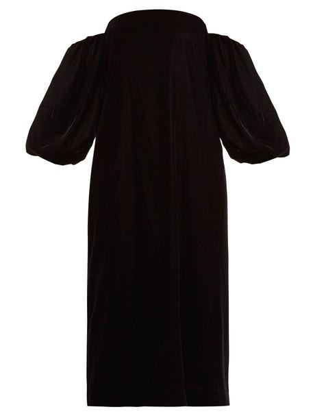 Elizabeth and James dress velvet dress velvet black