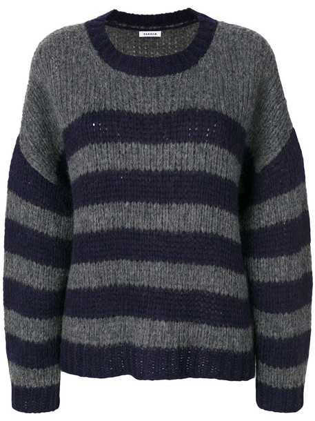 P.A.R.O.S.H. jumper women wool grey sweater