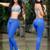 Royal Blue Tabbachi Jeans 7238 | Yallure