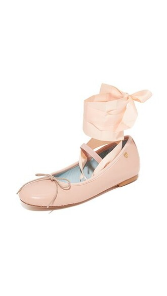 ballet flats ballet flats light pink light pink shoes