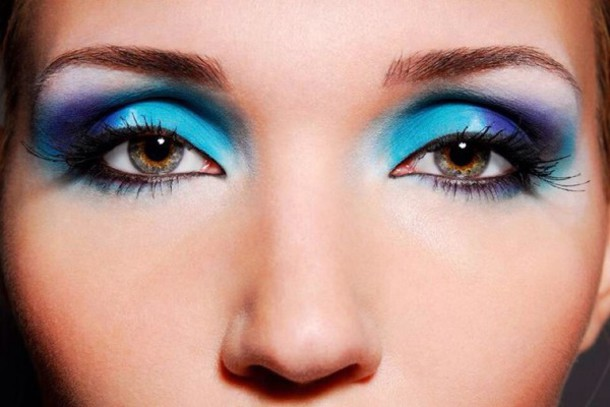 make-up ocean makeup