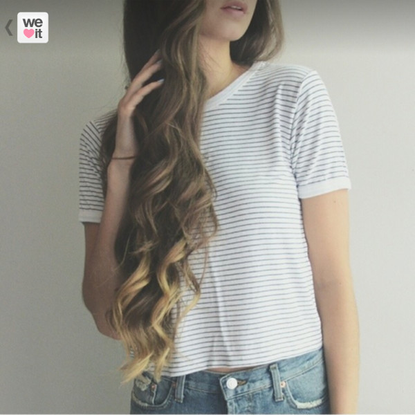 t-shirt stripes grey and white stripes shirt blouse top stripe tee