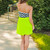 Neon Chevron Mini Dress | uoionline.com: Women's Clothing Boutique