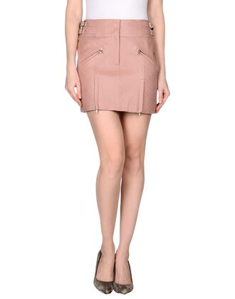 skirt pink skirt pink leather skirt mini skirt pink pink mini skirt