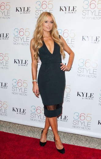 black little black dress paris hilton dress