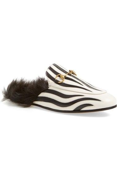 41ca83201e83 Gucci  Princetown  Genuine Shearling Mule Loafer (Women)