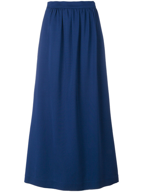skirt women spandex blue