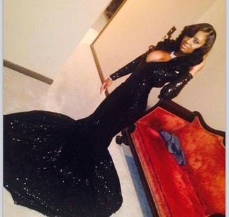 dress mermaid prom dress floor length dress sequin dress