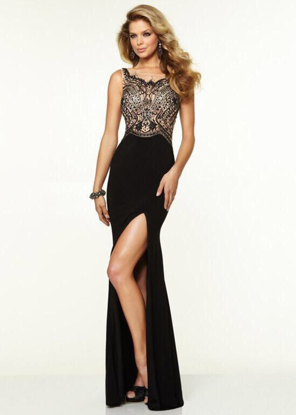 black and gold long prom dress | Gommap Blog