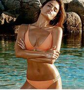 swimwear,melissa odabash bikini,bikini,peach bikini,swimwear two piece