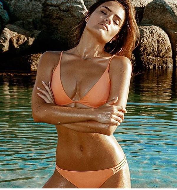 swimwear melissa odabash bikini bikini peach bikini swimwear two piece