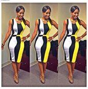 dress,clothes,yellow dress,white dress,little black dress,office dress,celebrity style,cute dress,shoes