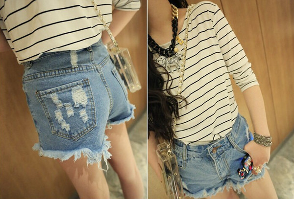 t-shirt band t-shirt cute style shorts denim shorts denim fashion vintage jewels bag