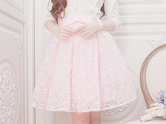 skirt girl kfashion korean pink skirt korean fashion