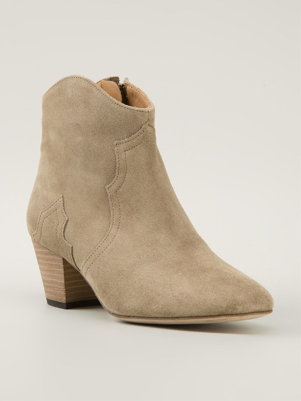 Isabel Marant 'dicker' Ankle Boots - The Corner Berlin - Farfetch.com