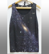 top,galaxy clothing,tank top,medium tank top,women tops