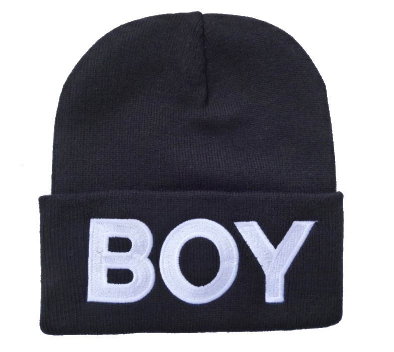 Fashion BOY Beanie hat,winter knitted caps and hats for man and women-in Skullies & Beanies from Apparel & Accessories on Aliexpress.com