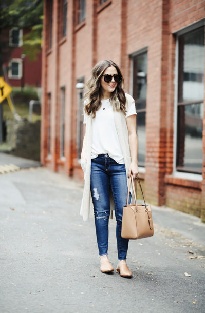 dress corilynn blogger shoes jeans sweater jacket scarf top coat t-shirt bag sunglasses jewels