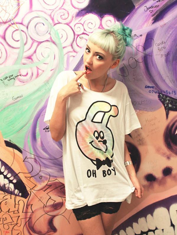shirt grunge pale oh boy shirt grunge soft grunge tumblr oversized t-shirt graphic tee cute tshirt tie dye oversized shirt oversized t-shirt oversized t-shirt t-shirt leggings