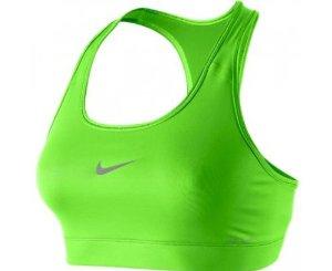 pretty nice d8eb3 13f0e Amazon.com  Nike Lady Pro Victory Support Sports Bra - Large - Green  Sports    Outdoors
