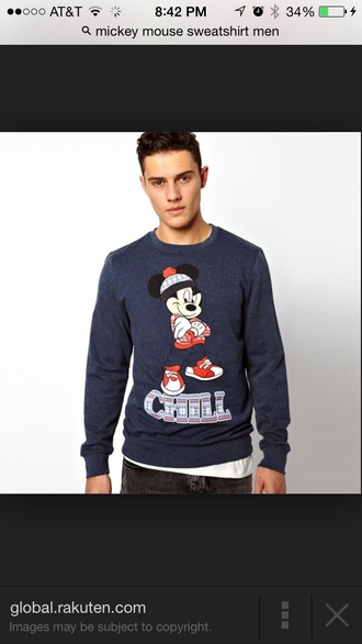 mickey mouse chill sweater