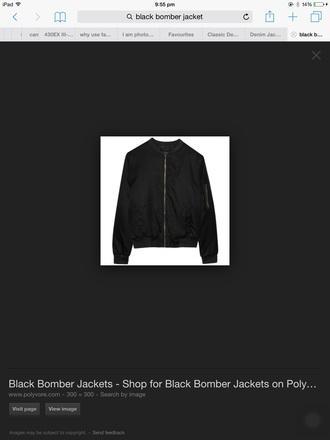 jacket bomber jacket black black bomber jacket