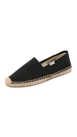 espadrilles black shoes