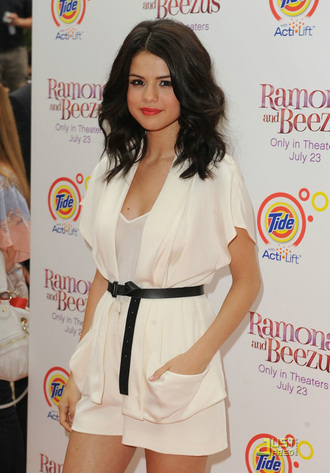 blouse white selena gomez jumpsuit