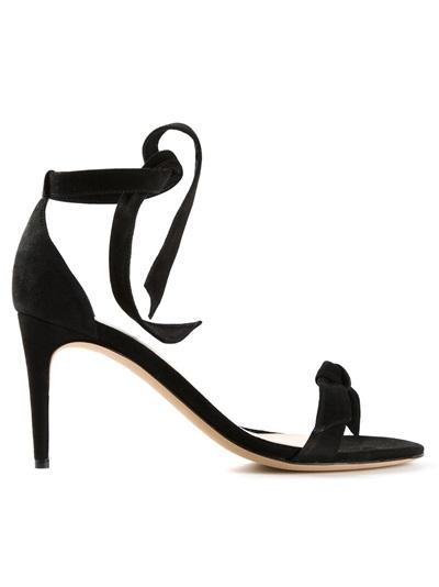Alexandre Birman Knotted Sandal - Hirshleifers - Farfetch.com