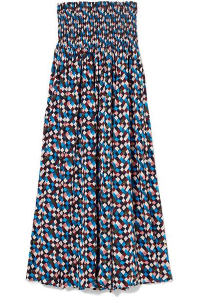 Tory Burch dress midi dress midi blue