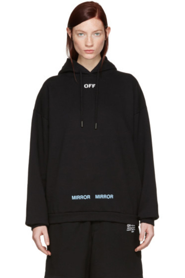 Off-White Black Care 'Off' Hoodie