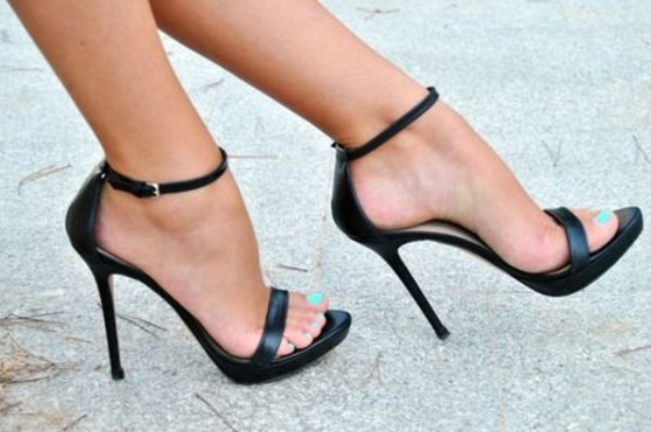 shoes high heels black black high heels