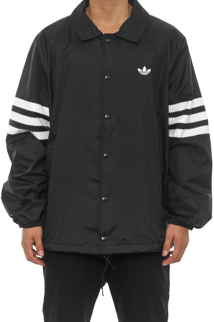 25 Coaches Jacket Black